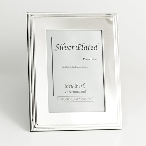 Large silver plated picture frame, Accent  - Bachelor Haus