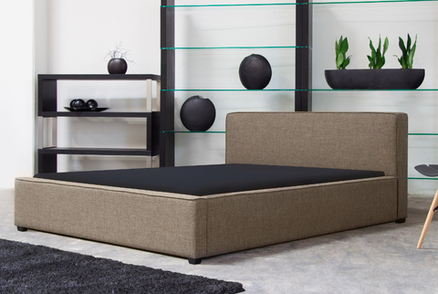 Euro Bed Queen, Bed  - Bachelor Haus