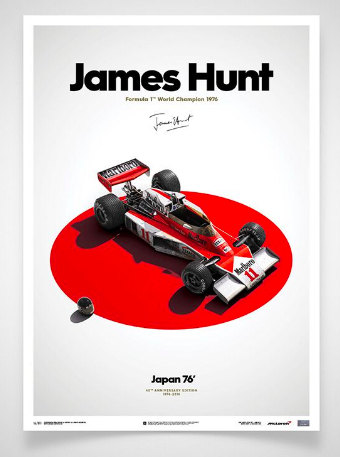 40th Anniversary of James hunt's F1 Championship