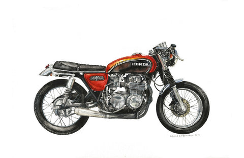 "Honda ""Sun Burst"", Artwork  - Bachelor Haus"