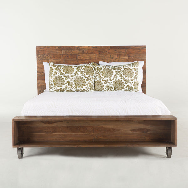 Reclaimed King Bed Frame, Bed frame  - Bachelor Haus