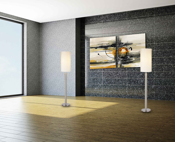 Contemporary 1.0 Art and Lamp Set, Accessories  - Bachelor Haus
