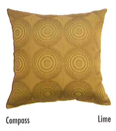 Compass Pillow, Pillows  - Bachelor Haus
