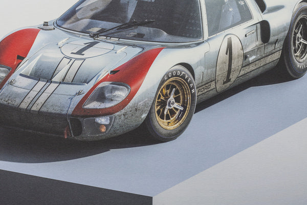 Ford GT40 MKII-A, Artwork  - Bachelor Haus