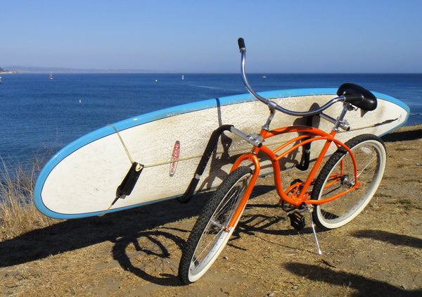 Bike Surfboard Racks - Mount your Bicycle with a Surfing Rack