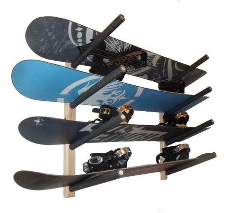 Snowboard Wall Mount Rack (Armed)