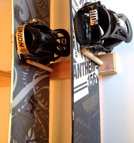 Vertical Snowboard Rack | 1 to 5 Boards