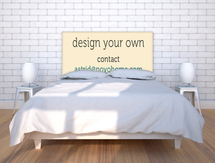 Design your own Headboard NOYO headboard