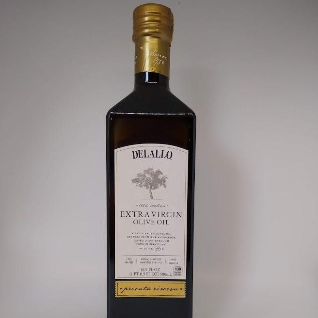 Extra Virgin Olive Oil, Delallo Private Riserva (500ml)