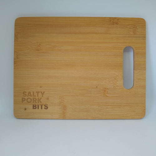 Salty Pork Bits Cutting Board