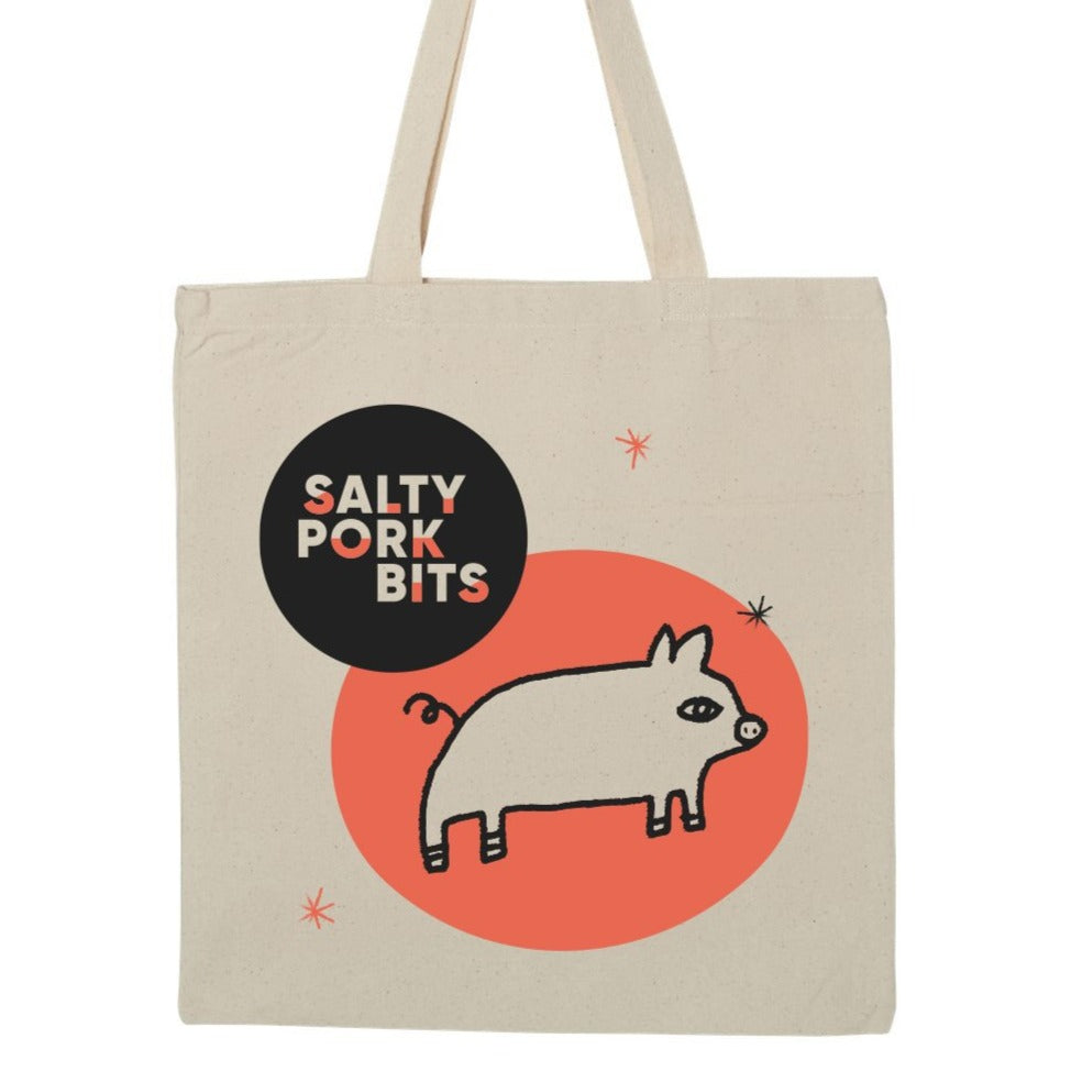 Salty Pork Bits Tote Bag - Option 1