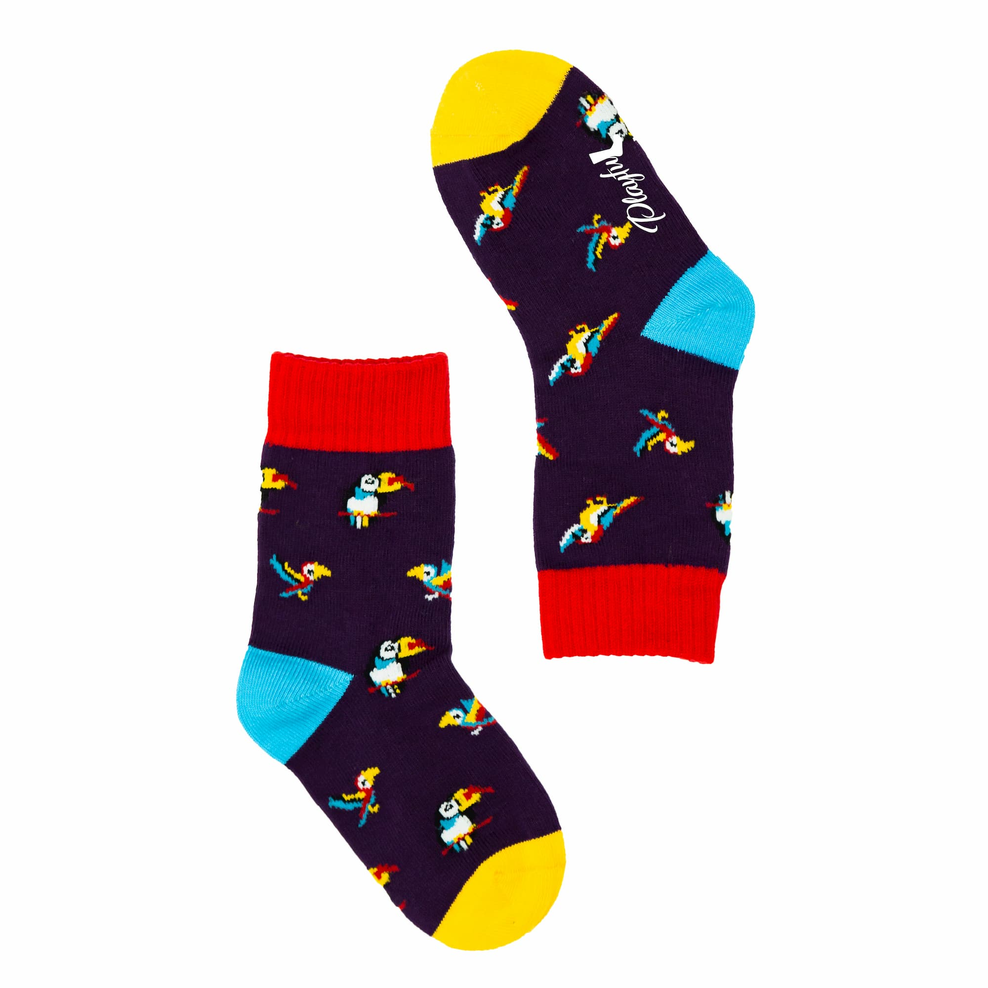Kids Party Parrot Socks