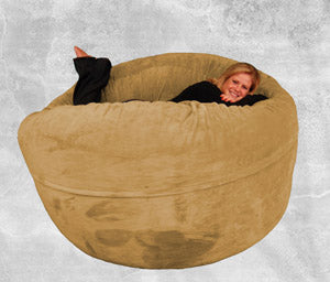 Poof Chairs Sackdaddy Bean Bag Chairs