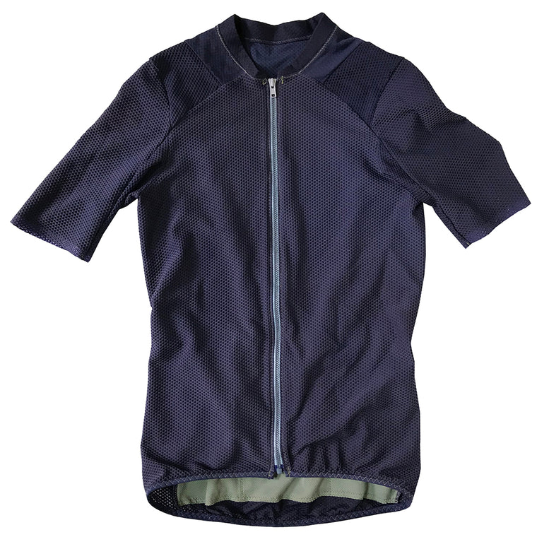 Garment Dyed Air Jersey: Cobalt