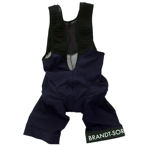 Garment Dyed Bib Shorts: Moonlight