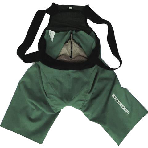 USA Bespoke Bib Shorts: Forest Green