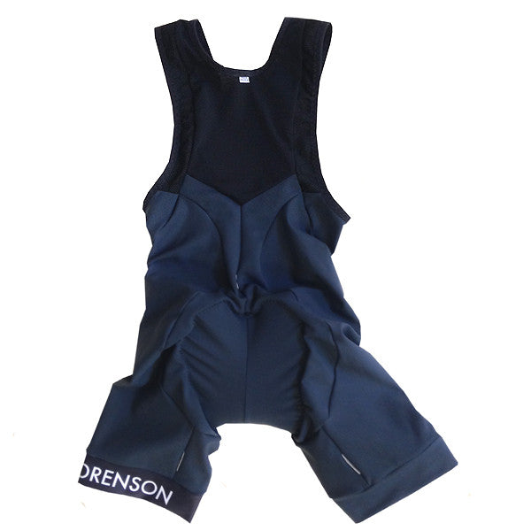 Luxury Bib Shorts: Charcoal 2014