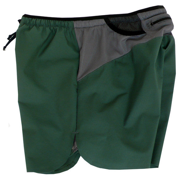 Trail Run Shorts: Forest Green 2016