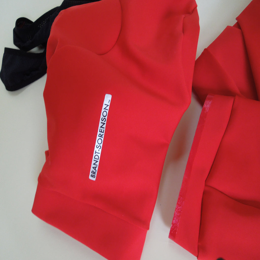 Convertible Bib Shorts: Lava