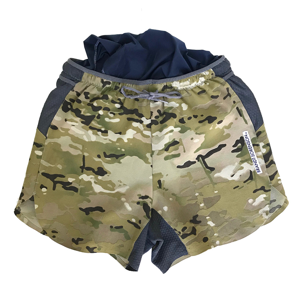 MultiCam Run Shorts