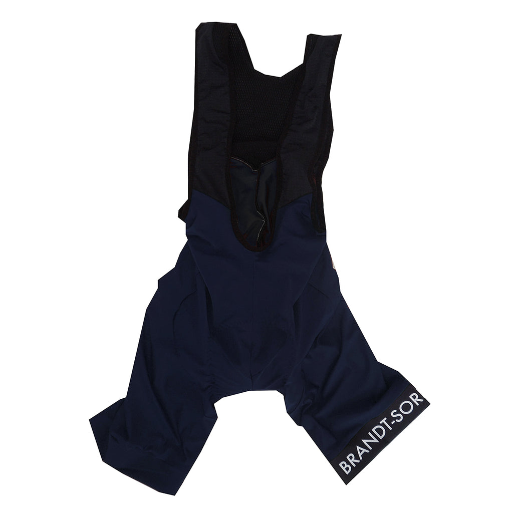 Luxury Bib Shorts: Navy