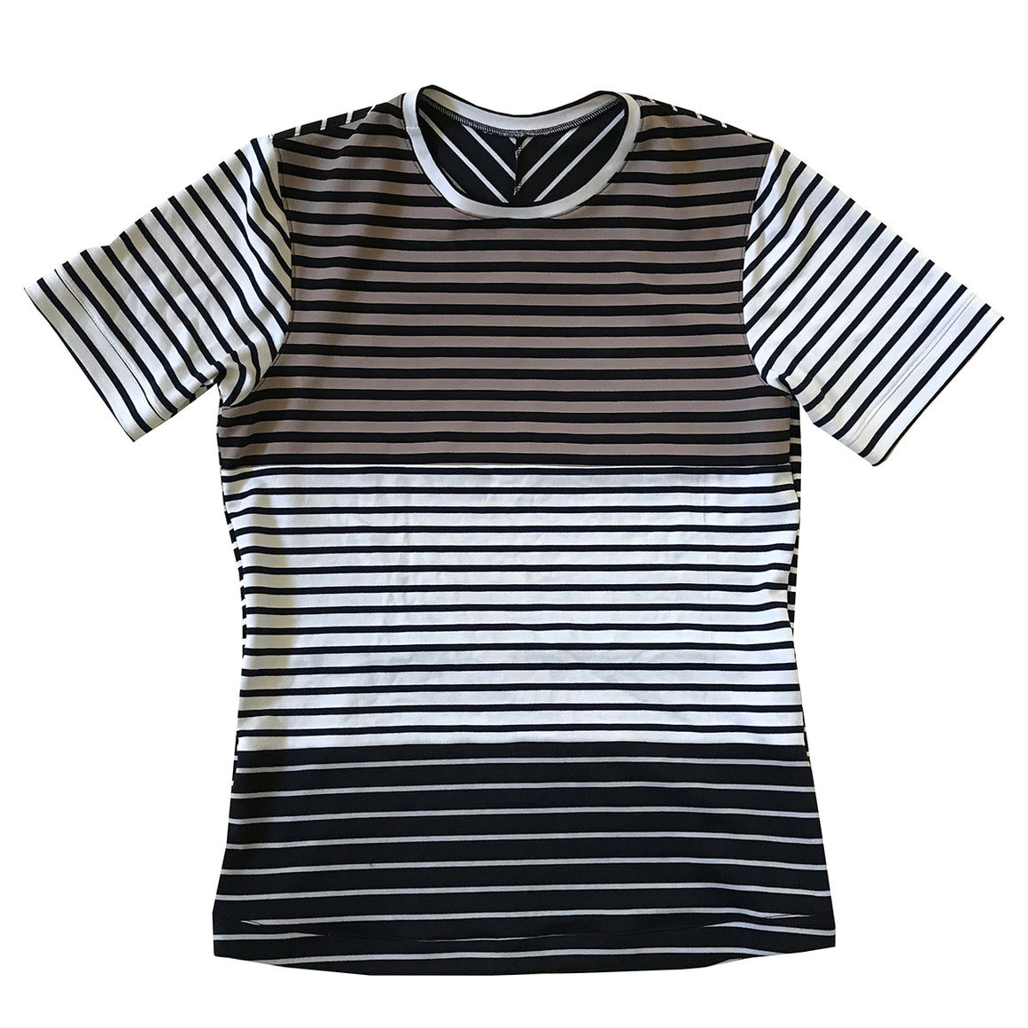 Objective Cuttings Polo Striped Shirt