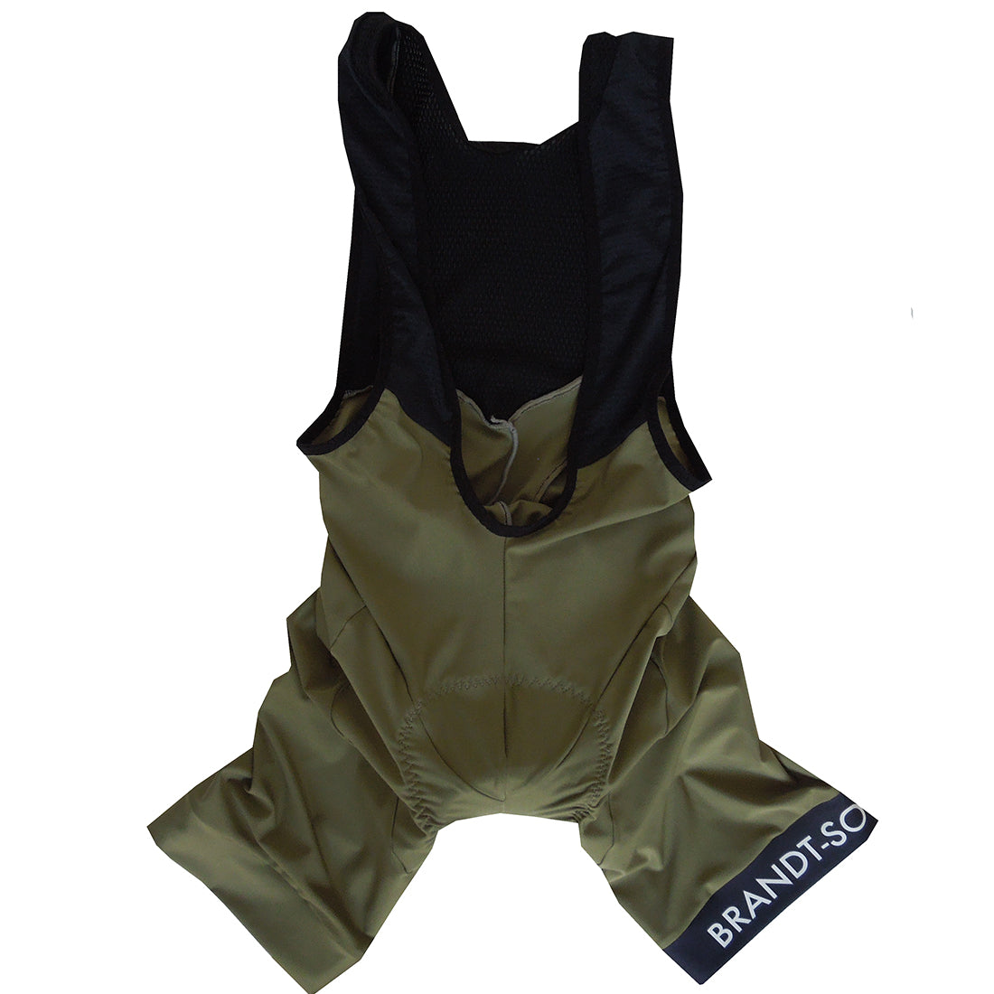 Luxury Bib Shorts: Moss Green