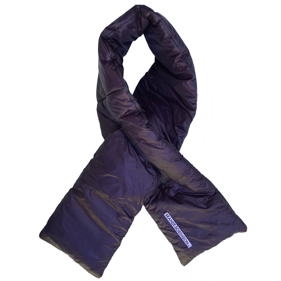 Ultralight Puff Scarf: Deep Purple