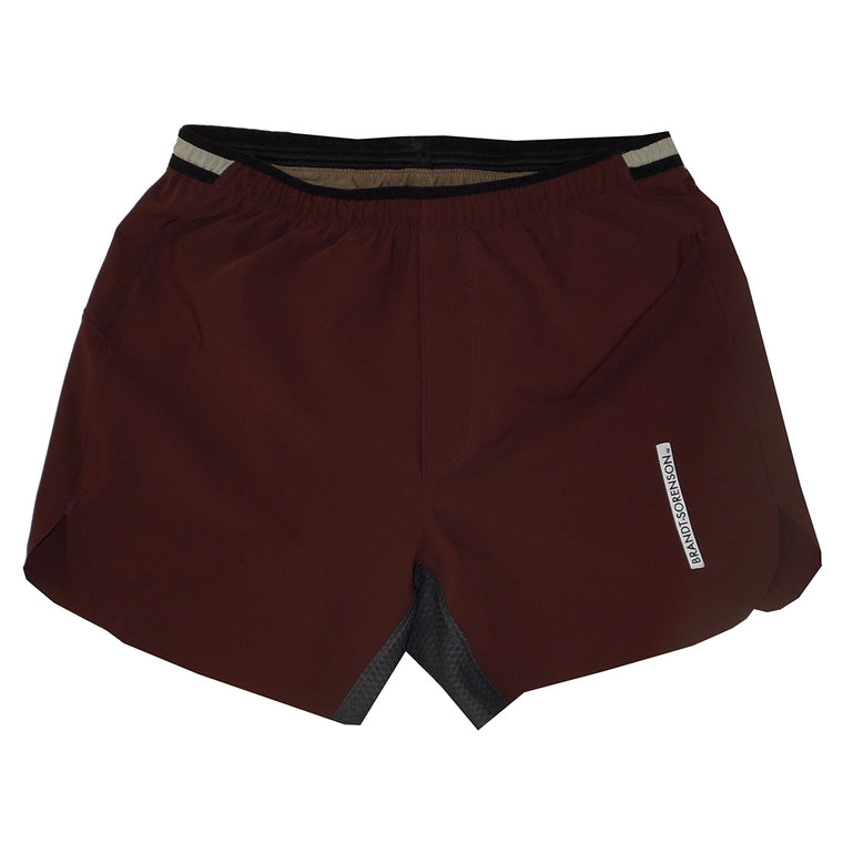 DWR Run Shorts: Burgundy