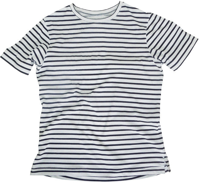 Organic Run Shirt: Striped