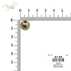 Satin Ball 10mm 0.35gr - 1325