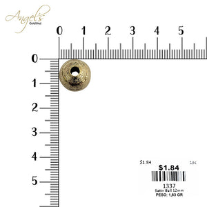 Satin Ball 12mm - 1337