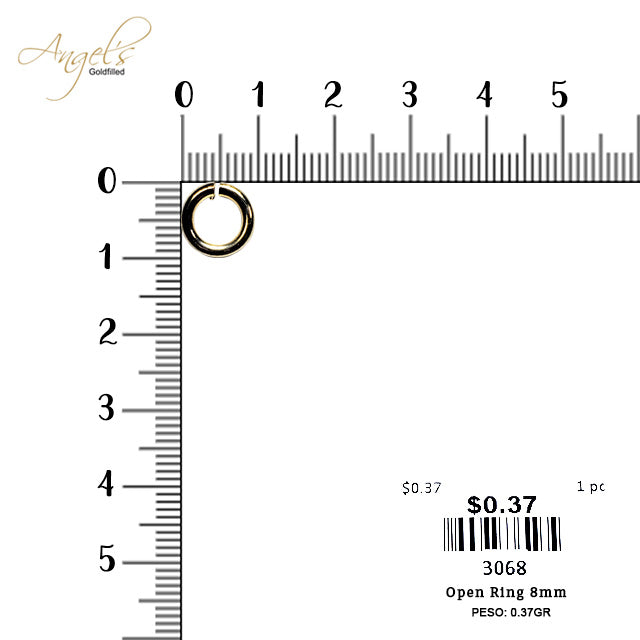 Open Ring 8mm - 3068