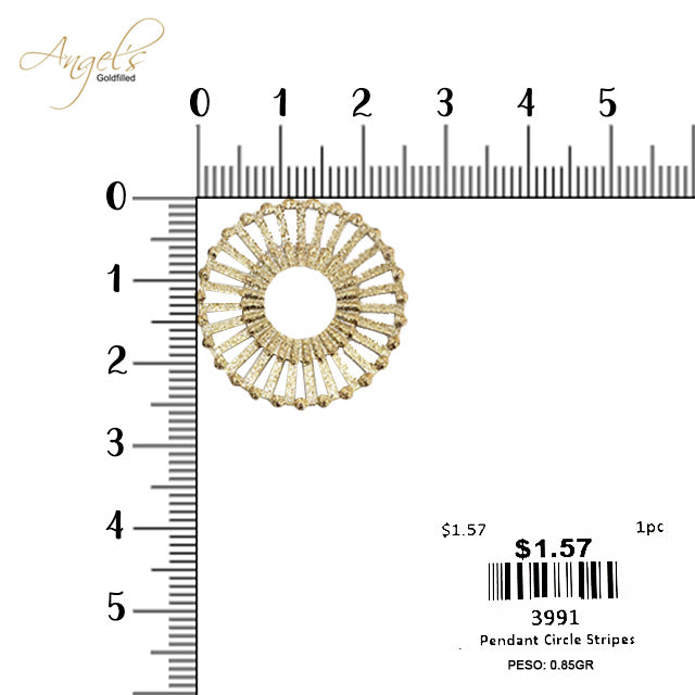 Pendant Circle Stripes - 3991