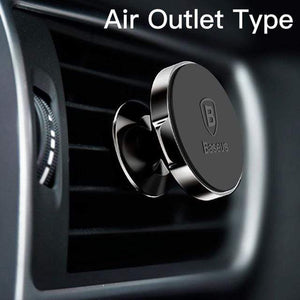 YourWorldShop Black Air Vent Universal Magnetic Phone Holder 2488009-black-air-vent