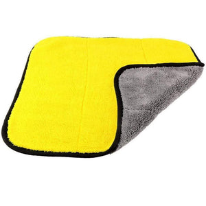 YourWorldShop Car microfiber cleaning towel 83545-yellow