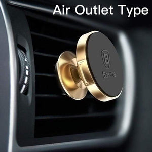 YourWorldShop Gold Air Vent Universal Magnetic Phone Holder 2488009-gold-air-vent