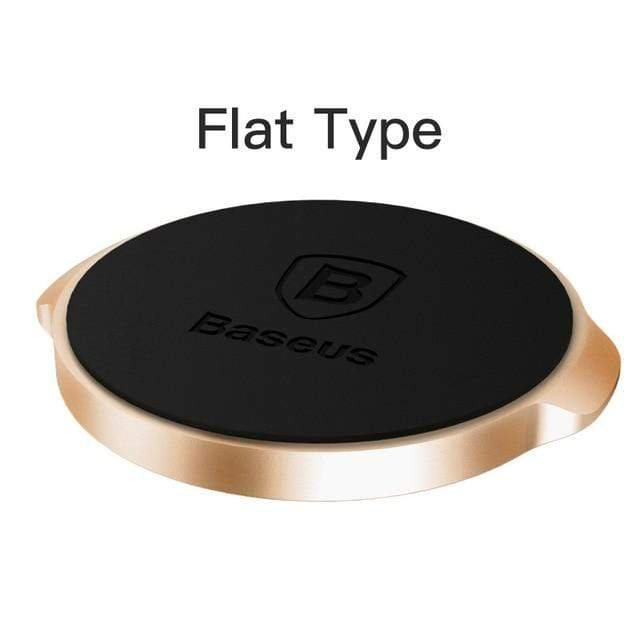 YourWorldShop Gold Flat Universal Magnetic Phone Holder 2488009-gold-flat
