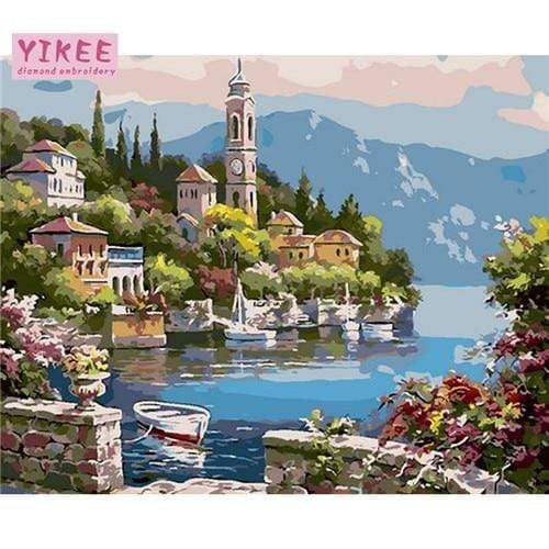 YourWorldShop GX1006 / 40x50cm no frame Fabulous Paintings by Numbers 17306505-gx1006-40x50cm-no-frame