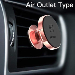YourWorldShop Rose Gold Air Vent Universal Magnetic Phone Holder 2488009-rose-gold-air-vent