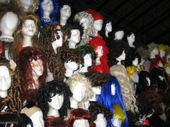 Hundreds of wigs