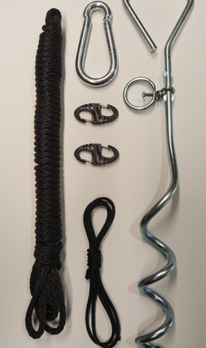 Airlocker Hanger & Anchor Kit