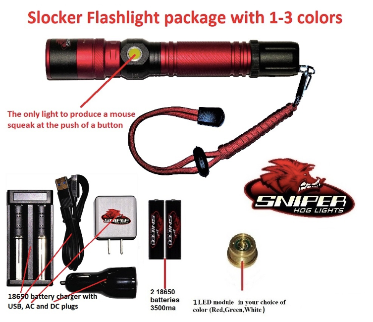 Tim Wells Slocker Flashlight