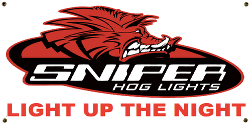Sniper Hog Lights Banner