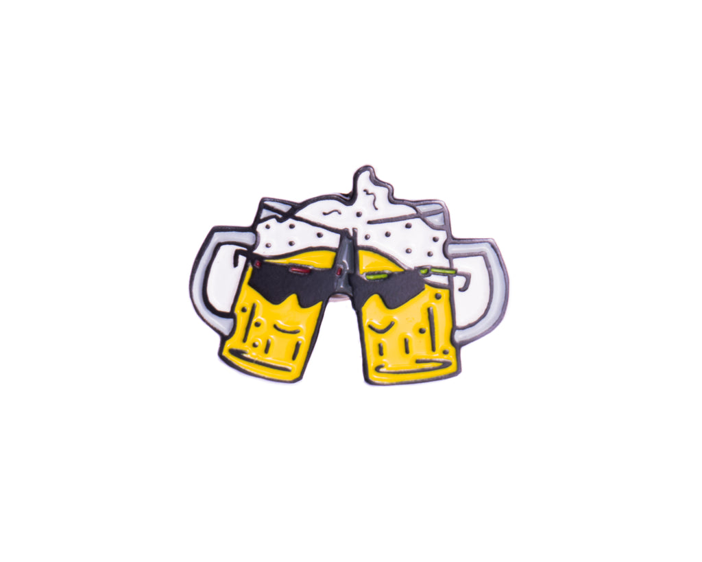 Beer Cheers Pin