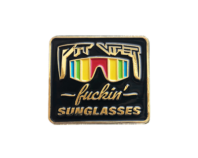 Fuckin' Sunglasses Pin