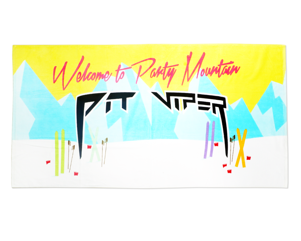 Party Mountain Towel