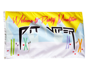Party Mountain Flag
