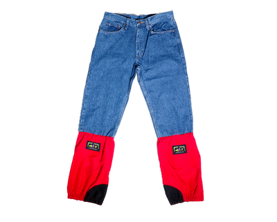 Xtreme Blue Jeans - Red