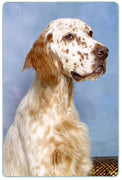 English Setter Cutting Board